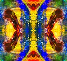 Mysterious Dimensions Abstract Pattern Artwork by owfotografik