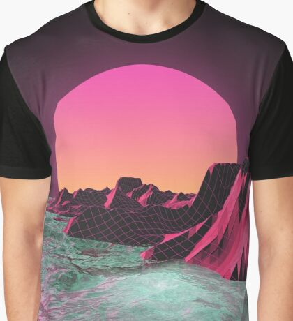 80's  R I S E R Graphic T-Shirt
