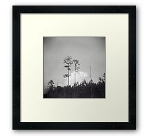 Chasing Clouds Framed Print