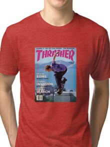 Thrasher Old School Magazine Cover 1 Tri-blend T-Shirt
