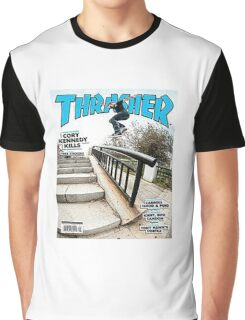 Old School Trasher Magazine Cover 2 Graphic T-Shirt