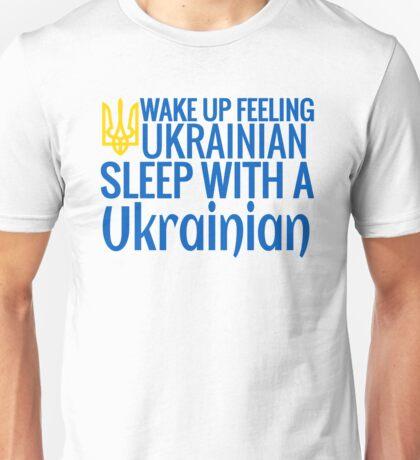 Feeling Ukrainian Unisex T-Shirt