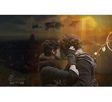 Jamie & Claire collage  Photographic Print