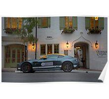 Aston Martin Vantage GT Poster