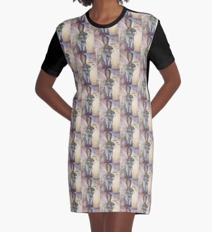 Carmen Can Fly Graphic T-Shirt Dress