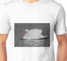 Mute swan busking Unisex T-Shirt