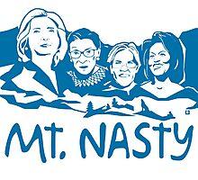 Nasty Women Blue Photographic Print