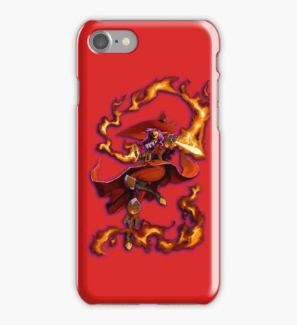 Crimson Magus iPhone Case/Skin