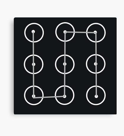 The Lock Screen Canvas Print