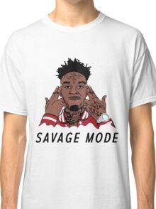 """21 Savage """"Been In Savage Mode""""  Classic T-Shirt"""