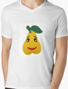 Pear Mens V-Neck T-Shirt