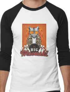 The Big Meowski Men's Baseball ¾ T-Shirt