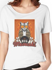 The Big Meowski Women's Relaxed Fit T-Shirt