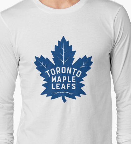 Toronto Maple Leafs New Away Logo Long Sleeve T-Shirt