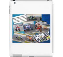 Australian MotoGP 2014 winners collection Rossi Lorenzo Smith Marq Marquez iPad Case/Skin