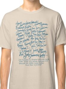 Sail2Indonesia Blue Ink Classic T-Shirt