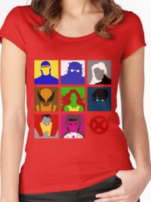 X-Men UNITE!! Women's Fitted Scoop T-Shirt