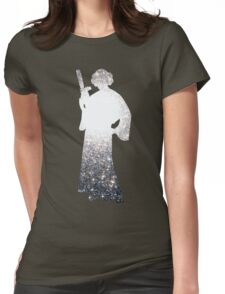 Space Princess Womens Fitted T-Shirt