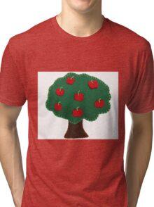 Apple tree Tri-blend T-Shirt