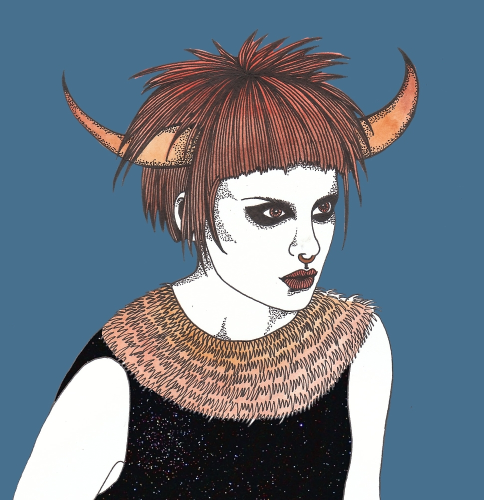 Taurus by Chelle  Terry