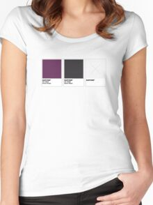 The Colorists - BARTONE Women's Fitted Scoop T-Shirt