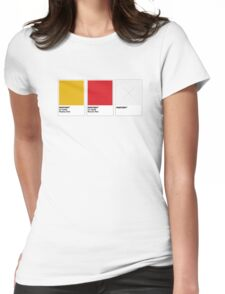 The Colorists - PANTONY Womens Fitted T-Shirt