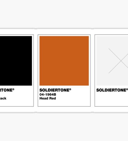 The Colorists - SOLDIERTONE Sticker