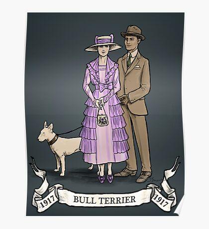 Bull Terrier - 1917 Poster