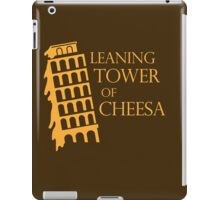 Leaning tower of cheesa iPad Case/Skin
