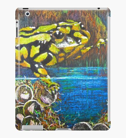 Australian  Corroboree Frog from a Pastel Painting  iPad Case/Skin