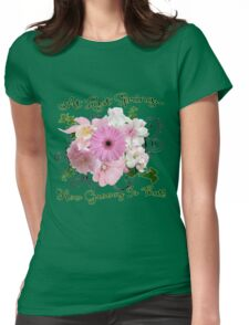 At Last Spring How Groovy Is That! Womens Fitted T-Shirt