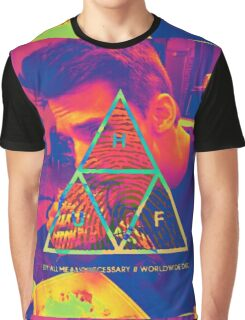 HUF x Bright Graphic T-Shirt