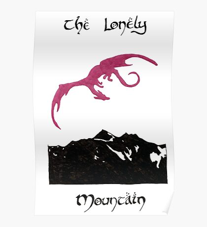 The Lonely Mountain Poster