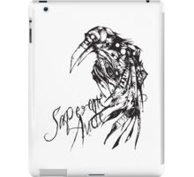Dare to Know - Sapere aude iPad Case/Skin