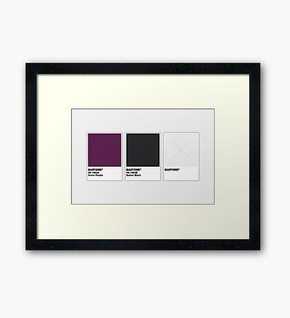 The Colorists - BARTONE Framed Print