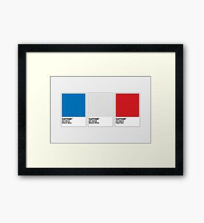 The Colorists - CAPTONE Framed Print