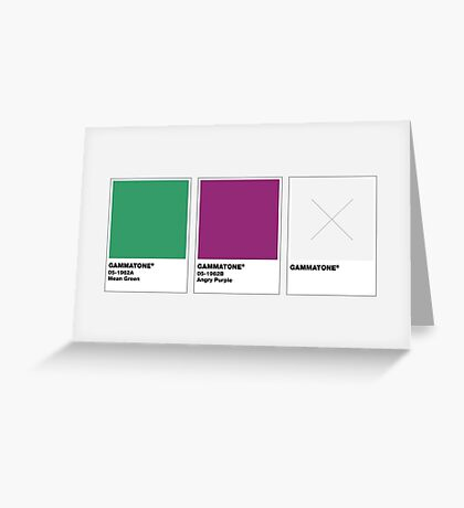 The Colorists - GAMMATONE Greeting Card