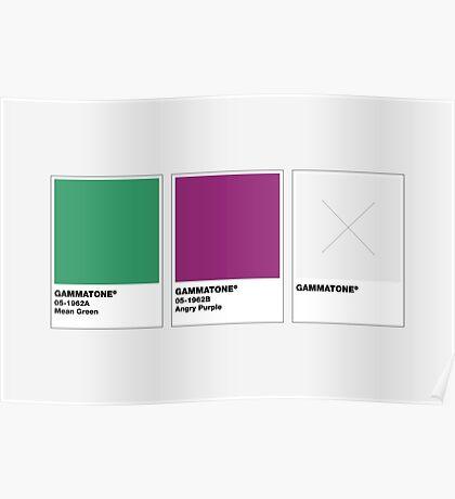 The Colorists - GAMMATONE Poster