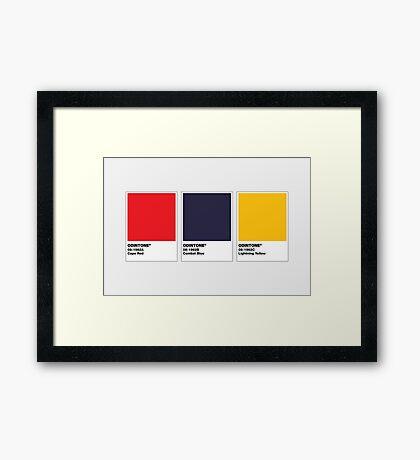 The Colorists - ODINTONE Framed Print