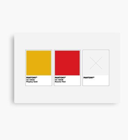 The Colorists - PANTONY Canvas Print