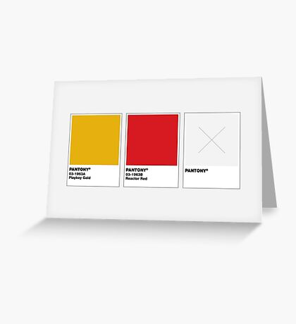 The Colorists - PANTONY Greeting Card