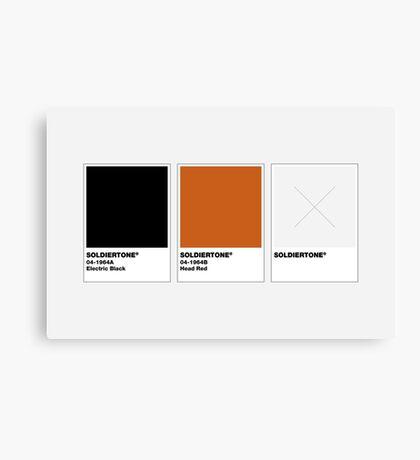 The Colorists - SOLDIERTONE Canvas Print