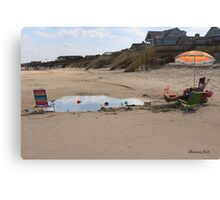 Late Afternoon Delight ~ Beach Time Canvas Print