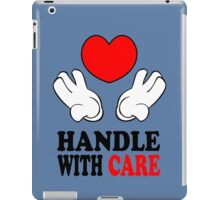 Love, Handle with care iPad Case/Skin