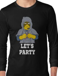 Bill Lets Party Long Sleeve T-Shirt