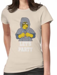 Bill Lets Party Womens Fitted T-Shirt