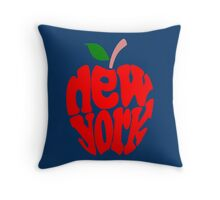 Big Apple New York Throw Pillow