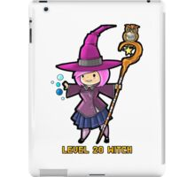 Level 20 Witch iPad Case/Skin