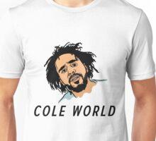"""J Cole """"Cole World"""" Unisex T-Shirt"""