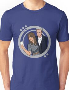 The Doctor and Clara - Selfie Unisex T-Shirt